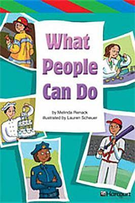 Storytown: Ell Reader Teacher's Guide Grade 4 What People Can Do
