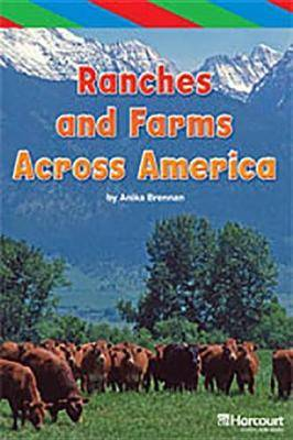 Storytown: Ell Reader Teacher's Guide Grade 4 Ranches and Farms Across the World