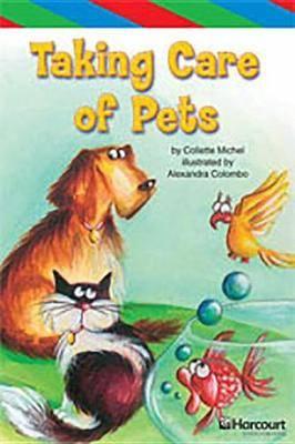 Storytown: Ell Reader Teacher's Guide Grade 4 Taking Care of Pets