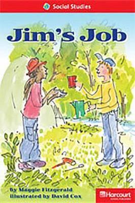 Storytown: Below Level Reader Teacher's Guide Grade 1 Jim's Job