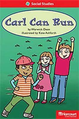 Storytown: Below Level Reader Teacher's Guide Grade 1 Carl Can Run