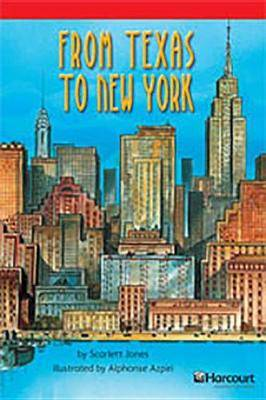 Storytown: Below Level Reader Teacher's Guide Grade 4 from Texas to New York