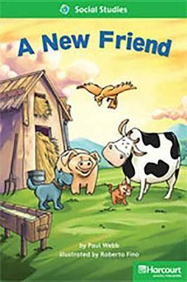 Storytown: Above Level Reader Teacher's Guide Grade 1 a New Friend
