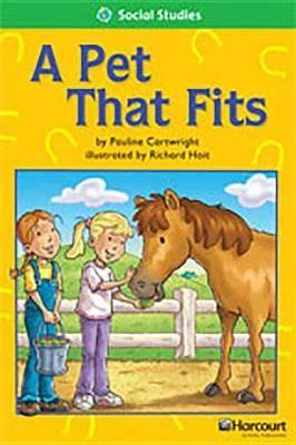Storytown: Above Level Reader Teacher's Guide Grade 2 a Pet That Fits