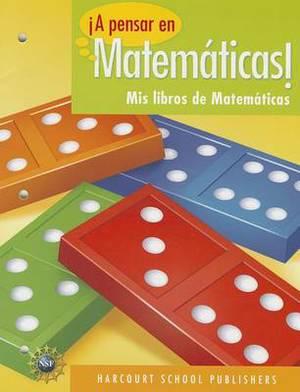 !A Pensar en Matematicas!: MIS Libros de Matematicas