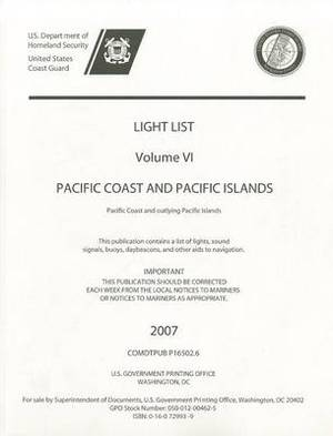 Light List, 2006, V. 6, Pacific Coast and Pacific Islands: Pacific Coast and Pacific Islands