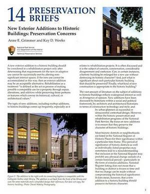 New Exterior Additions to Historic Buildings: Preservation Concerns: Preservation Concerns