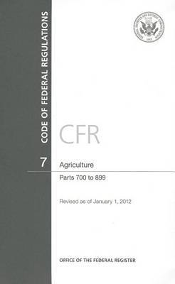 Agriculture: Parts 700 to 899
