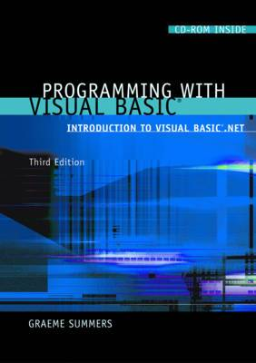 Programming with Visual Basic: Introduction to Visual Basic .Net