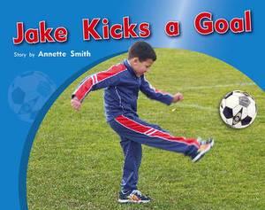 Jake Kicks a Goal PM Photo Stories Red Levels 3,4,5
