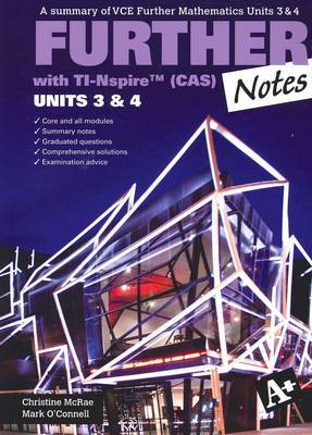 A+ Further Notes (CAS) VCE Units 3 and 4 TI-Nspire WBCD