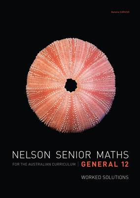 Nelson Senior Maths General 12 Solutions