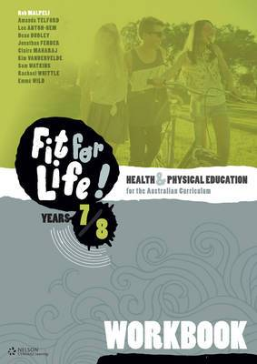 Nelson Fit for Life! Workbook Years 7 and 8