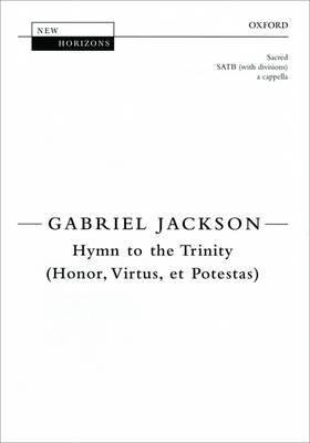 Hymn to the Trinity (Honor, Virtus, et Potestas): Vocal Score