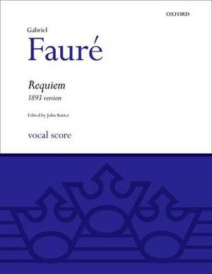 Requiem (1893 Version): Vocal Score