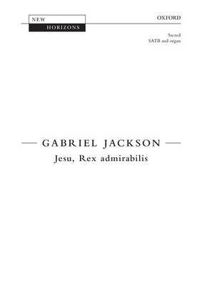 Jesu, Rex Admirabilis: Vocal Score