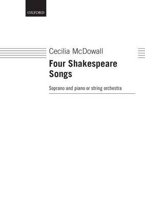 Four Shakespeare Songs: Vocal Score