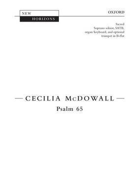 Psalm 65: Vocal Score
