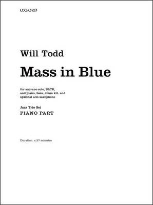 Mass in Blue: Jazz Trio Set: Piano, Bass, Drum Kit, and Opt. Sax