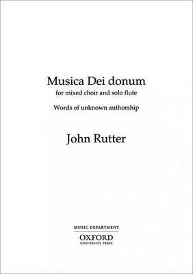 Musica dei Donum: Vocal Score