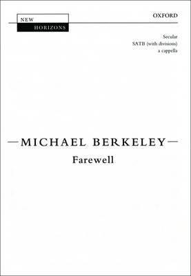Farewell: Vocal Score