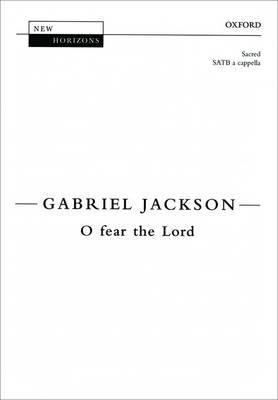 O Fear the Lord: Vocal Score