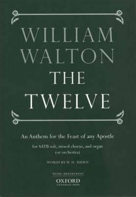 The Twelve: Vocal Score