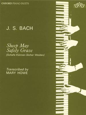 Sheep May Safely Graze: Piano Duet