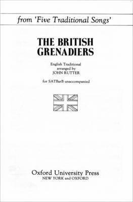The British Grenadiers: From Five Traditional Songs