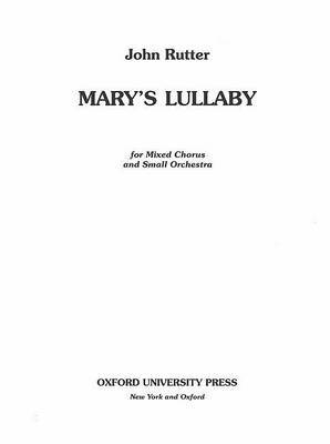 Mary's Lullaby: Full score