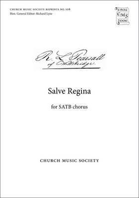 Salve Regina: Vocal Score: SATB Unaccompanied