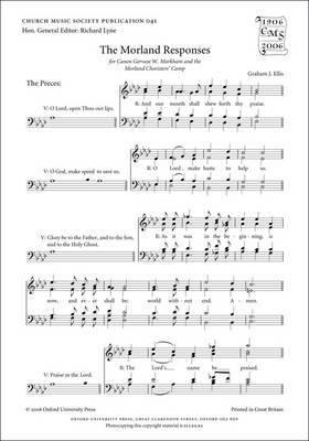 The Morland Responses: Vocal Score: Vocal Score