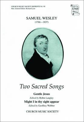 Two Sacred Songs: Vocal Score