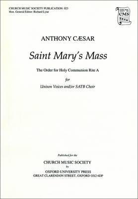 St Mary's Mass: Vocal Score