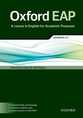 Oxford EAP: advanced/C1: Student's Book and DVD-ROM Pack