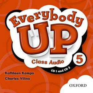Everybody Up: 5: Class Audio CDs: Level 5: Everybody Up: 5: Class Audio CDs Class CD
