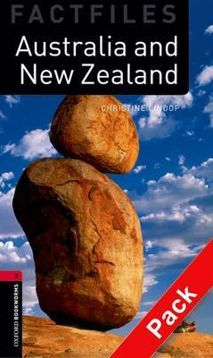 Oxford Bookworms Library Factfiles: Level 3:: Australia and New Zealand Audio CD Pack