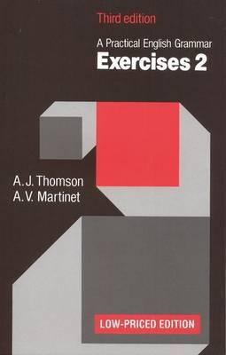 Practical English Grammar: Exercises: Grammar Exercises to Accompany a Practical English Grammar: No. 2