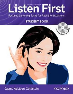 Listen First: Student Book with Student Audio CD