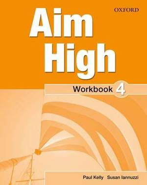 Aim High: Level 4: Workbook with Online Practice