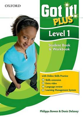 Got It! Plus: Level 1: Student Pack: A Four-level American English Course for Teenage Learners