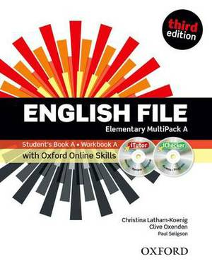 English File third edition: Elementary: MultiPACK A with Oxford Online Skills: The best way to get your students talking