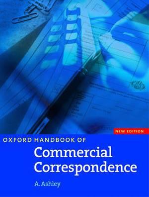 Oxford Handbook of Commercial Correspondence, Handbook