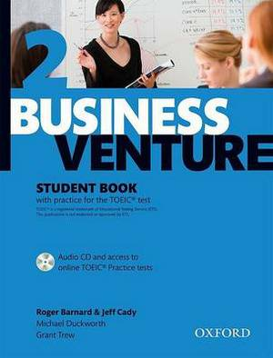 Business Venture 2 Pre-Intermediate: Cady, Jeff: Student's Book Pack