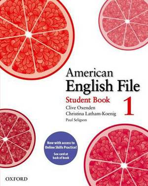 American English File: Level 1: Student Book Pack