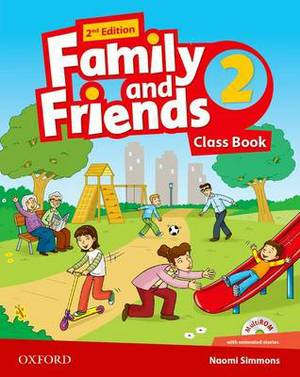 Family and Friends: Class Book with Student MultiROM: Level 2