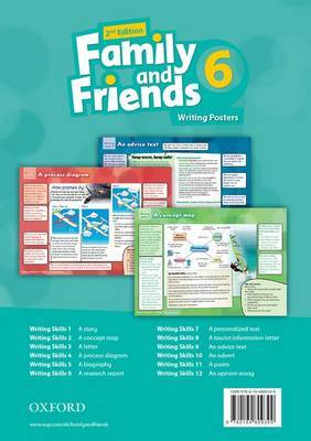 Family and Friends: Writing Posters: Level 6