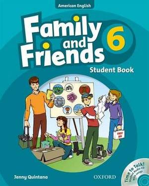 Family and Friends American Edition: 6: Student Book & Student CD Pack