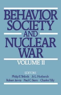 Behavior, Society, and Nuclear War
