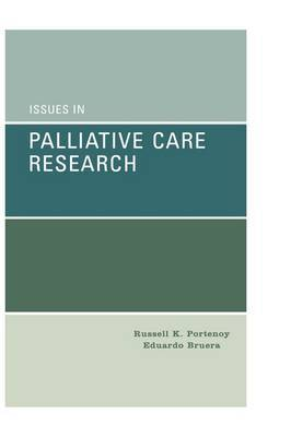 Issues in Palliative Care Research